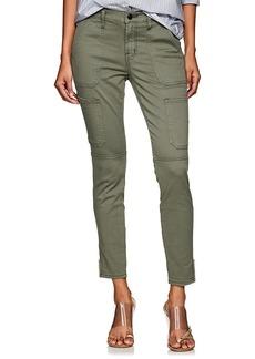 J Brand Women's Cotton-Blend Skinny Utility Pants