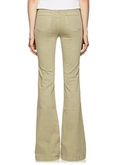 J Brand Women's Demi High-Rise Flared Jeans