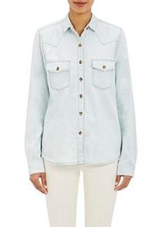 J Brand Women's Denim Western-Style Shirt