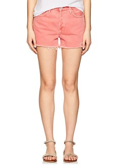 J Brand Women's Gracie Denim High-Rise Shorts