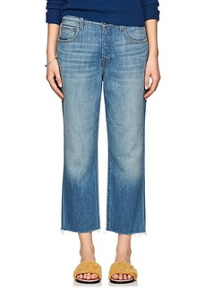 J Brand Women's Ivy High-Rise Crop Jeans