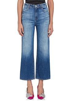 J Brand Women's Joan Wide-Leg Crop Jeans