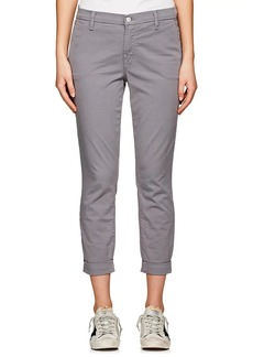 J Brand Women's Josie Cotton-Blend Tapered Trousers