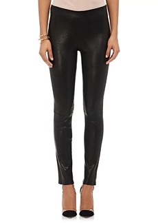 J Brand Women's Leather Pull-On Leggings