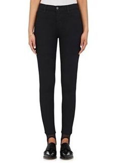 J Brand Women's Lexi Cotton-Blend Stirrup Skinny Jeans