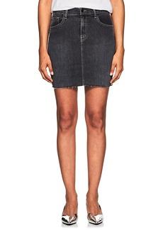 J Brand Women's Lyla Denim Mid-Rise Miniskirt
