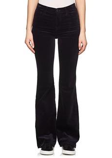 J Brand Women's Maria Velour Flared Jeans