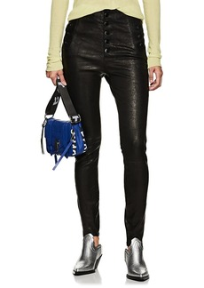 J Brand Women's Natasha Skinny Leather Pants