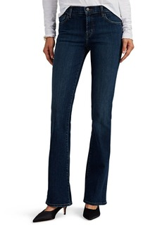 J Brand Women's Sallie Mid-Rise Boot-Cut Jeans