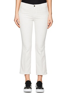 J Brand Women's Selena Corduroy Crop Flared Jeans