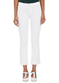 J Brand Women's Selena Crop Flared Jeans