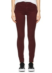 J Brand Women's Super Skinny Sateen Mid-Rise Jeans