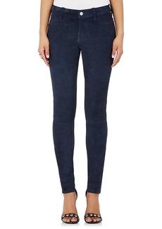 J Brand Women's Super Skinny Suede Jeans