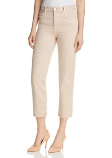 J Brand Wynne Crop Straight Jeans in Memory