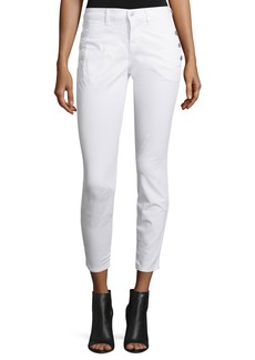 J Brand Xo Zion Mid-Rise Skinny Cropped Jeans