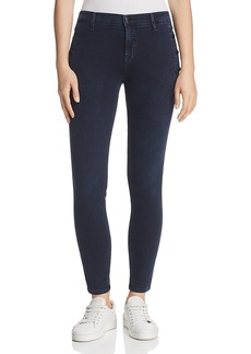 J Brand Zion Mid Rise Button Skinny Jeans in Ingenious