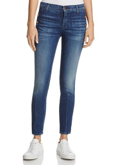 J Brand Zion Skinny Crop Jeans in Cover