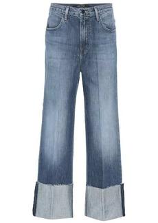 J Brand Joan cropped wide-leg jeans