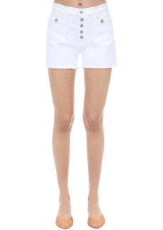 J Brand Joan High Rise Stretch Denim Shorts