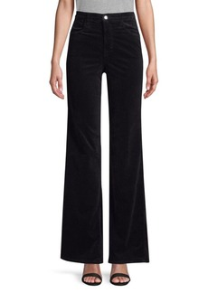 J Brand Joan High Rise Wide Leg Corduroy Pants