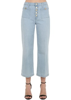 J Brand Joan High Rise Wide Leg Denim Jeans