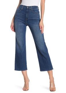 J Brand Joan High Rise Wide Leg Crop Jeans