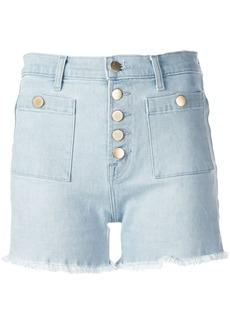 J Brand Joan high-waist denim shorts