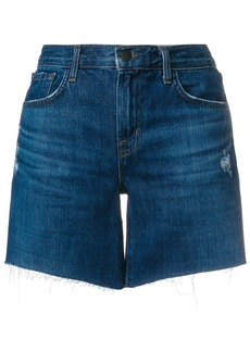 J Brand Johnny denim shorts