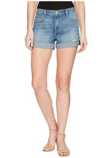 J Brand Johnny Mid-Rise Shorts in Broken Heart