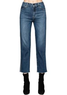 J Brand Jules Embellished High Rise Jeans