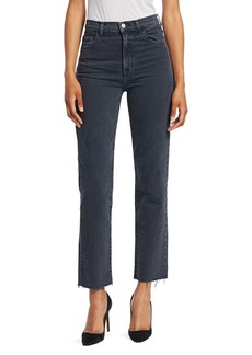 J Brand Jules High Rise Ankle Straight Jeans