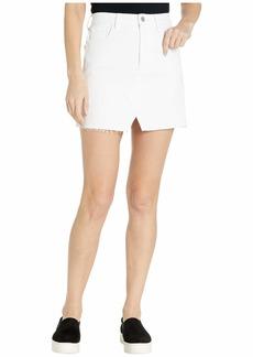 J Brand Jules High-Rise Skirt in White