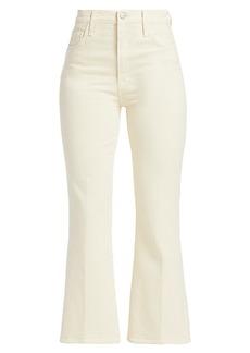 Julia High-Rise Crop Flare Jeans