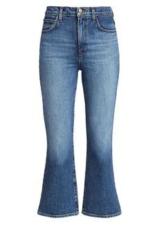 J Brand Julia High-Rise Kick Flare Jeans