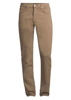 J Brand Kane Low-Rise Slim-Fit Straight-Leg Jeans