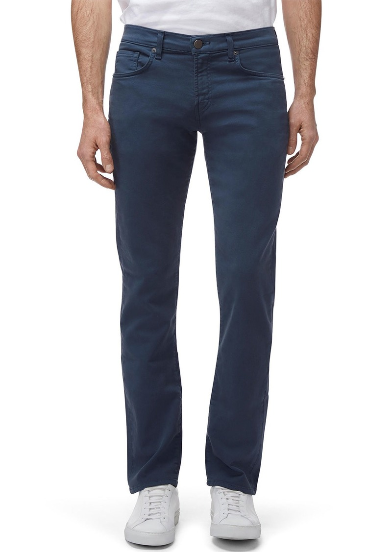 J Brand Kane Slim-Fit Luxe Terry Jeans  Keckley