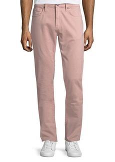 J Brand Kane Straight-Leg Twill Pants