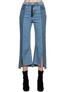 J Brand Kozaburo Asymmetrical Cotton Denim Jeans