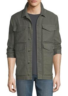 J Brand Kraeton Army Twill Jacket
