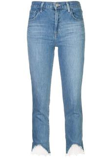 J Brand lace trim jeans