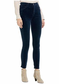 J Brand Leenah High-Rise Ankle Skinny in Dark Iris