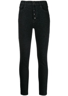 J Brand Lillie button-up skinny jeans