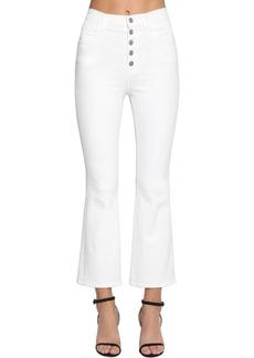 J Brand Lillie Flared Cotton Denim Jeans