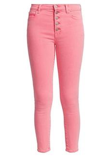 J Brand Lillie High-Rise Crop Skinny Jeans