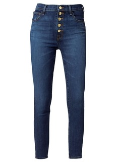 J Brand Lillie High-Rise Cropped Skinny Jeans