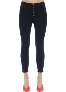 J Brand Lillie High Skinny Stretch Denim Jeans