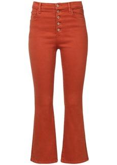 J Brand Lillie High Waist Crop Denim Jeans