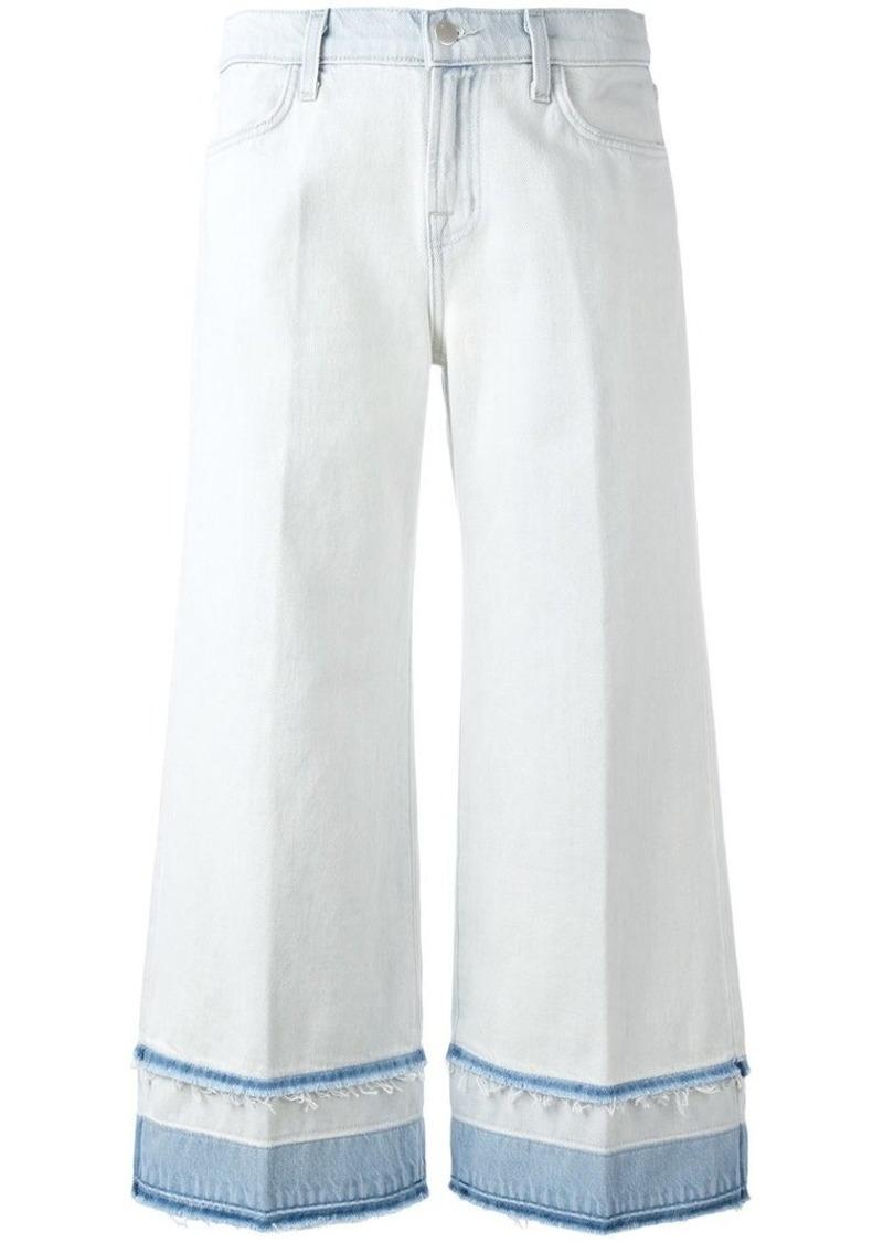 J Brand Liza mid-rise culotte jeans