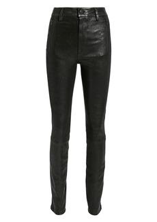 J Brand Lora Leather Pants