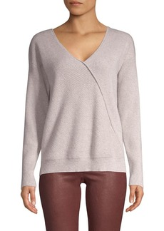 J Brand Loran Chevron Cashmere Sweater